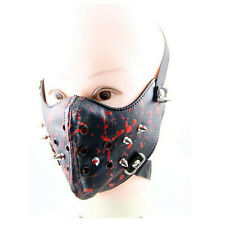 hot visual kei face PU Gothic Rock Punk springy steam punk Halley Rocking mask