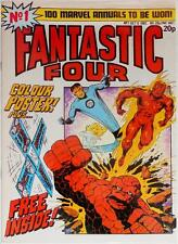 FANTASTIC FOUR #1-MARVEL COMICS UK-ORIGIN-BONUS POSTER ERROR!-BOOMERANG GIFT