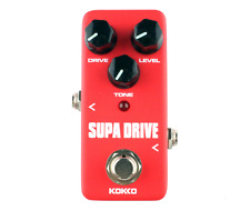 Kokko Supa Drive FOD5 Warm Overdrive Electric Guitar Effects Pedal Stompbox