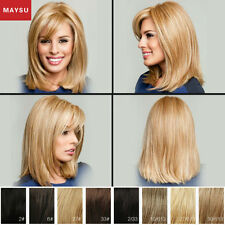 Long Straight Human Hair Wigs For Women Elegant Long Hair Wigs Straight Wig