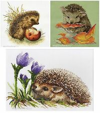 NEW UNOPENED Russian Counted Cross Stitch KIT OVEN Hedgehog Animals