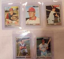1970 Topps Baseball Cards .. Different Cards .. Pick the One You Want