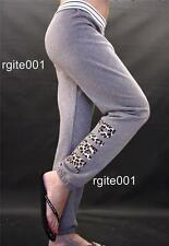 Victoria's Secret Love PINK Skinny Lounge Leopard Graphic Campus Sweat Pants