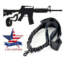 For AR-15 223,556, Nylon Rifle Single One Point Tactical Adjustable Gun Sling