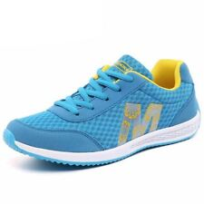 Women Comfortable Rubber Material Lace Up Breathable Casual Shoes