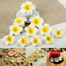 Lovely Artifical Foam Frangipani Flowers Headbands Wedding Party Craft Decors
