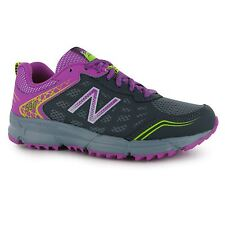 New Balance WT590 v1 Running Shoes Womens Gry/Purp Trainers Sneakers Sports Shoe
