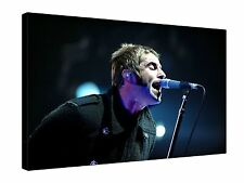 """Liam Gallagher Oasis Singer Music 30x20"""" Canvas Wall Art Picture Print Framed"""