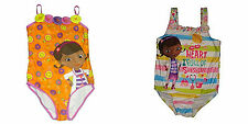 Disney Doc McStuffins Little Girls One Piece Swim Suit - NEW