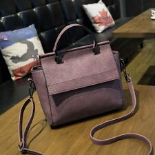 Women Vintage Casual Style Pu Leather Crossbody Shoulder Bag