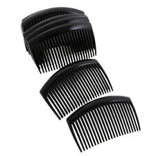 12pcs Plastic Hair Comb Clip Hairpin Side Combs Pin Barrettes 9 x 5cm for Lady