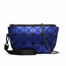 Women Fashion Interior Zipper Pocket Design Geometric Pattern Handbag