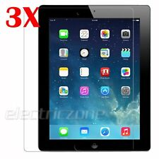 3 Pack Premium Clear HD Screen Protector Guard Cover for Apple iPad Air 1 2 2017