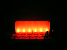 12pcs Frosted Rechargeable Flameless Led Tea Light Candle lamp tealight