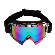 WOLFBIKE Snow Googles Windproof UV400 Motorcycle Ski Snowmobile Goggles Eyewear