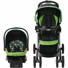 Car Seat Stroller Combo Baby Travel System Toddler Carriage Infant Carrier