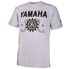 NEW Men's Yamaha GEARED TEE BY ONE INDUSTRIES GRAY T-SHIRT CASUAL APPAREL S 2XL