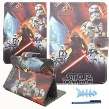 """7-7.9"""" universal android tablet case protective skin stand flip folio star war"""
