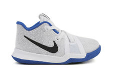 NEW Nike Kyrie 3 869984 102 Toddlers White Cobalt Lifestyle Basketball Shoes