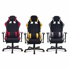 High Back Racing Gaming Chair Race Car Seat Computer Office Desk Ergonomic Chair
