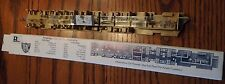 HO Scale Accessories Rivarossi Interior No.20140 1930 Chair Car 1 with Lights