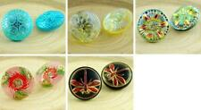 1pc Handmade Czech Glass Buttons Size 8, 18mm
