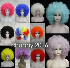 11 Colors New Charm Afro Wig Fluffy Cosplay Anime Carnival Party Wigs+Wig Cap