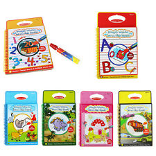 Hot Magic Water Drawing Book Coloring Book Doodle with Pen kid Education Toy