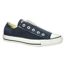 Converse Chuck Taylor All Star Slip Navy White Womens Unisex Trainers