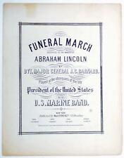Abraham Lincoln's Official Funeral March - 1865