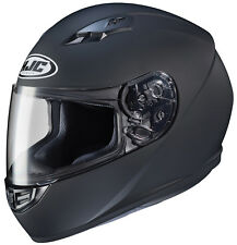 HJC Adult CS-R3 Solid Matte Black Full Face Motorcycle Helmet DOT