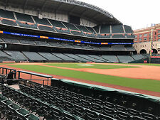 2 Tickets Astros Vs TX Rangers FIELD BOX SECTION 127 ROW 7 AISLE SEATS! 8/29/17