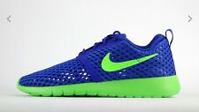 Nike Roshe One Flight Weight  (GS) 705485404, Racer Blue/ Green  UK 5.5 , 3.5