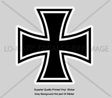 Iron Cross German Military Emblem Aircraft Fighter Bomber Insignia Decal Sticker