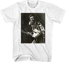 PLAYING GUITAR Jimi Hendrix Psychedelic Rock Electric Guitarist ADULT T-Shirt