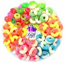Gummy Rings 5lb bag, Many Flavors- CHOOSE YOUR FAVORITE ONE - Free Shipping