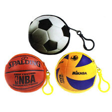 Soccer Ball Baseball Basketball Children Women Plush Coin Purse MinI Pouch Bag