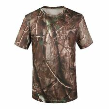 SAF-New Camouflage T-shirt Men Breathable Army Tactical Combat T Shirt Military