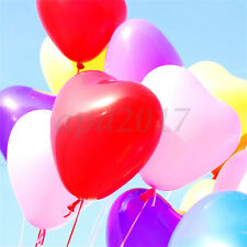 Heart Shape Latex Helium Balloons Birthday Wedding Party Decoration Supplies