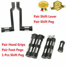 Shift Lever Peg Foot Pegs Grips for Harley Sportster Touring Dyna Softail Custom