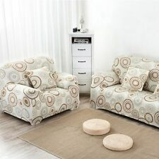 Slipcover Printed Furniture Sofa Couch Seater Portector Household Elastic Cover