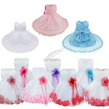 Toddler Kid Infant Wedding Party Formal Flower Girls Dress Baby Pageant dresses