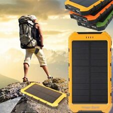 18000mAh Solar Panel 2A 1A Battery Power Bank External Portable Phone Charger WP