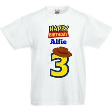 Toy Story Birthday T shirt - Any Age - Personalised!!