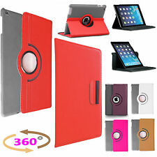 PU Leather360 Degree Rotating Smart Stand Case Cover For APPLE iPad AIR,MINI,PRO