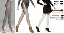 Hue Womens Classic Rib diamond quilted Spare Rib OR Cable Net Control Top Tights