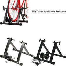 New Indoor Stationary Exercise Bike Bicycle Trainer Roller Stand Resistance