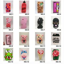 3D Cute Cartoon Animal Peppa Pig Soft Silicone Case Cover For iPhone 6 6s  7Plus