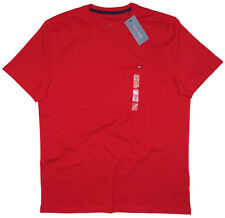 Tommy Hilfiger Men's Shirt T-Shirt Red 100% Cotton Crew neck XS XXL