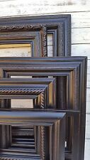 Distressed black picture frame,vintage picture frame, custom picture frames